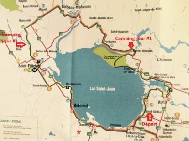 Carte et tracé