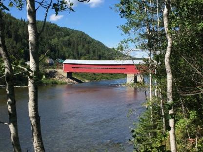 Pont Vallée de la Matapédia ou j'ai perdu m.on porte-feuille