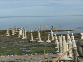 Sculptures à Ste-Flavie