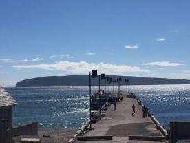 La fameux quai et l'Ile Bonaventure