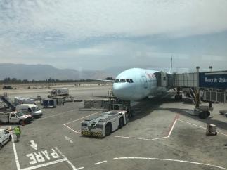 Arrivée a Santiago