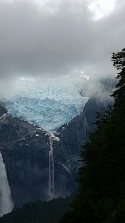 Glacier a Queulat