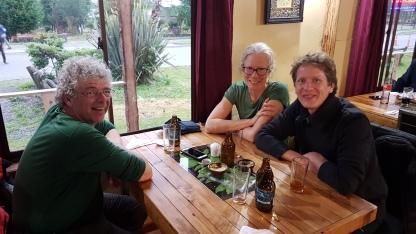 Des Allemands rencontré a Puyuhuapi