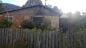 La maison de la propriétaire du camping.