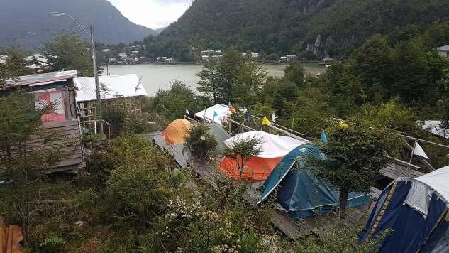 Le terrain de Camping a Torel!
