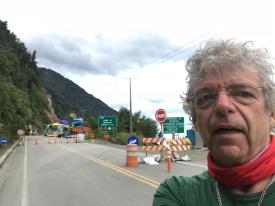 Route bloqué-Éboulis