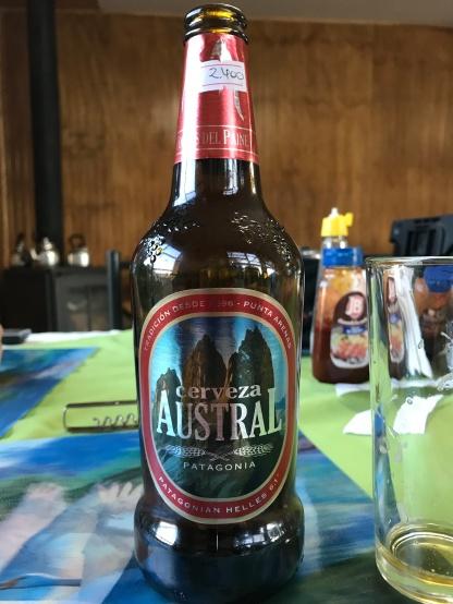 Délicieuse bière aromatisé au Calafate. (petit fruit)
