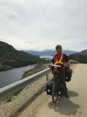 Le Lago Negro à ma droite.