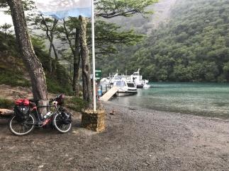 Débarquement du Lago Del Desierto