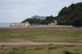 Le ferry en provenance de Puerto Montt