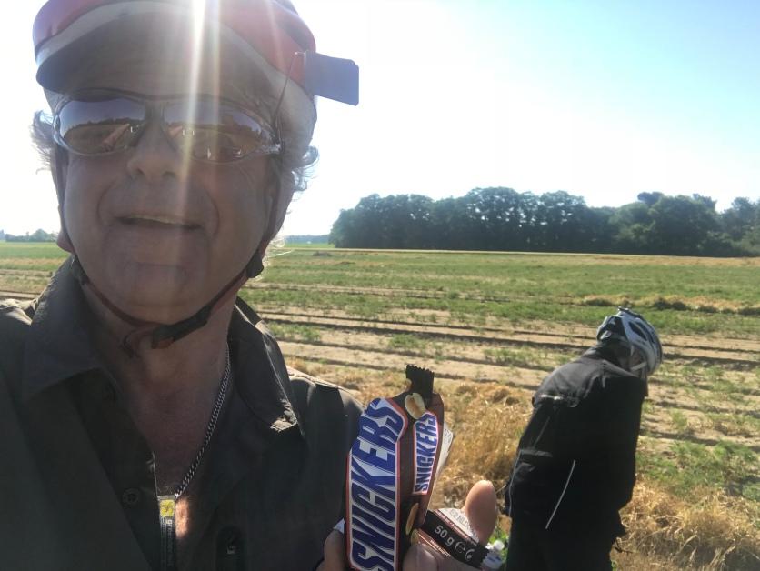 La Snickers du cyclotouriste!