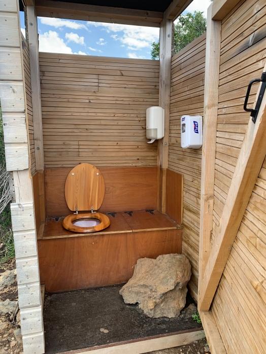 Les toilettes du restaurant